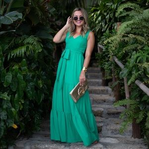 Lilly Pulitzer Maurine Maxi in Emerald Isle 💚